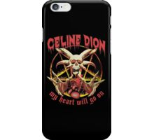 Celine dion - My Heart Will Go On - Metal Artwork  iPhone Case/Skin