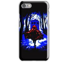 Red Riding Hood Tardis iPhone Case/Skin