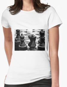 Life Is Simply A Game Of Chess Womens Fitted T-Shirt