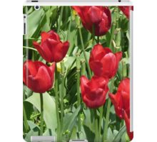 Red Tulips , Throw Pillow , Tote bag, Duvet, prints iPad Case/Skin