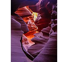 Light in the Slot, Lower Antelope Canyon, Page, Arizona USA Photographic Print