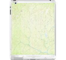 USGS TOPO Map Alaska AK Ruby B-6 358595 1952 63360 iPad Case/Skin