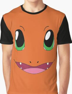 Charmander face Graphic T-Shirt