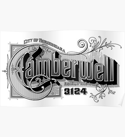 Camberwell Poster