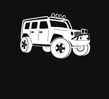 Jeep JK Wrangler Touring Spec:  Sticker / Tee - White Unisex T-Shirt