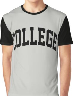 COLLEGE Education Graphic T-Shirt