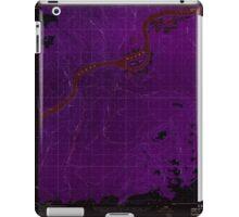 USGS TOPO Map Alaska AK Tanana B-2 359790 1956 63360 Inverted iPad Case/Skin