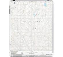 USGS TOPO Map Alaska AK Lookout Ridge C-1 357177 1985 63360 iPad Case/Skin