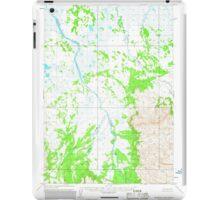 USGS TOPO Map Alaska AK Ugashik A-6 360093 1963 63360 iPad Case/Skin