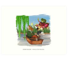 Wind & the Willows Art Print