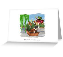 Wind & the Willows Greeting Card