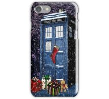 Tardis Christmas iPhone Case/Skin