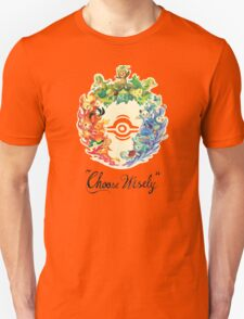 'Choose Wisely' All Starters. Pokemon Unisex T-Shirt