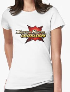Monster Hunter Generations  Womens Fitted T-Shirt