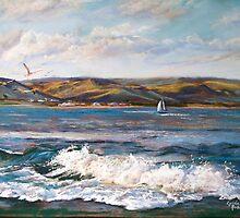 Pastel Splashes - Marengo by Lynda Robinson