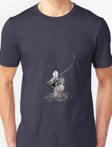 Cat Fishing Unisex T-Shirt
