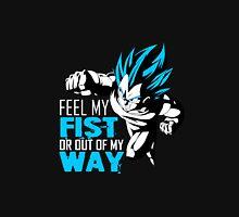 Vegeta - Feel My Fist, Blue Unisex T-Shirt