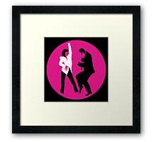 -TARANTINO- Pulp Fiction Dance Framed Print
