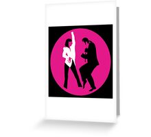 -TARANTINO- Pulp Fiction Dance Greeting Card
