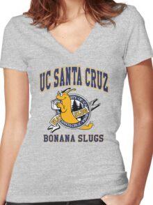 -TARANTINO- Pulp Fiction UC Santa Cruz Women's Fitted V-Neck T-Shirt