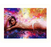 Cosmic Sexy Collection - Pinup #6 Art Print