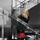 Little Red Hand Bag by Karen E Camilleri