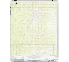 USGS TOPO Map Alaska AK Tanacross C-3 359742 1956 63360 iPad Case/Skin