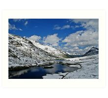 Scheidsee (Verwall Mountains) Art Print