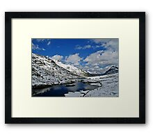 Scheidsee (Verwall Mountains) Framed Print