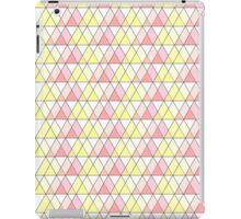 triangle pattern iPad Case/Skin