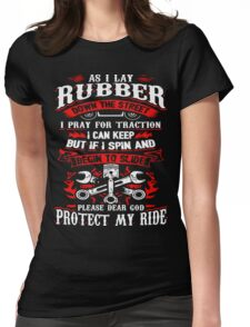 mechanic, enginer, hvac technician Womens Fitted T-Shirt