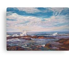 The Lonely Sea & The Sky Canvas Print
