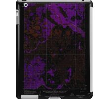 USGS TOPO Map Alaska AK Sleetmute C-2 359252 1954 63360 Inverted iPad Case/Skin