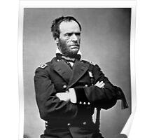 General William Tecumseh Sherman Civil War Hero Poster
