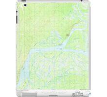 USGS TOPO Map Alaska AK Nulato D-4 358177 1952 63360 iPad Case/Skin
