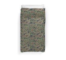 Woodland Camo Pattern Duvet Cover