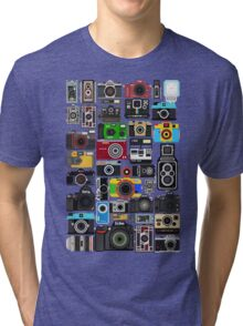 Pixelated Camerass Tri-blend T-Shirt