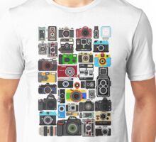 Pixelated Camerass Unisex T-Shirt