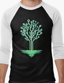 Tree of Technological Knowledge Men's Baseball ¾ T-Shirt