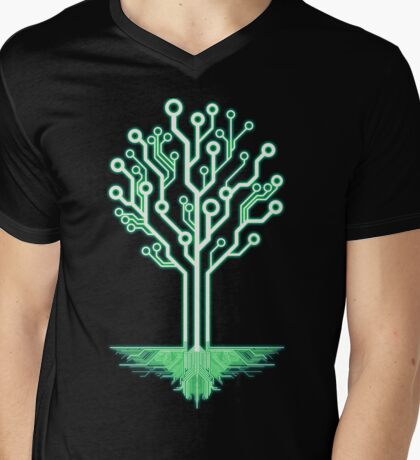 Tree of Technological Knowledge Mens V-Neck T-Shirt