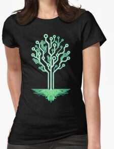 Tree of Technological Knowledge Womens Fitted T-Shirt