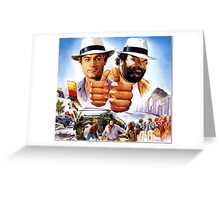 Go for It - Bud Spencer & Terence Hill Greeting Card