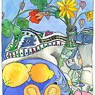 Vincent's Surprise Guavas - Still Life  by TangerineMeg