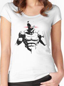 Cyborg Ninja Women's Fitted Scoop T-Shirt