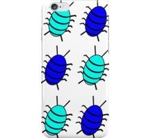 Blue bugs iPhone Case/Skin