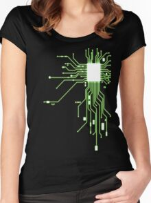 Circuitry Women's Fitted Scoop T-Shirt
