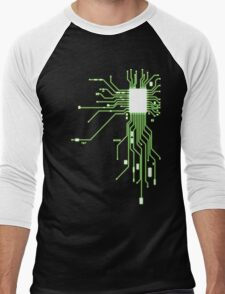 Circuitry Men's Baseball ¾ T-Shirt