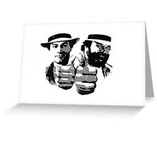 Bud Spencer & Terence Hill Greeting Card