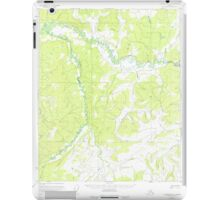 USGS TOPO Map Alaska AK Livengood C-5 357139 1952 63360 iPad Case/Skin