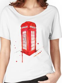 Telephone Booth Women's Relaxed Fit T-Shirt